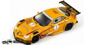 Mercedes-Benz SLR #3 GT Trophy 2008 (Oranje) (10cm) 1/43 Spark