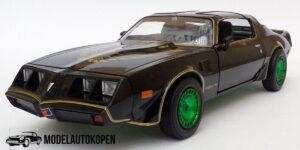 1980 Pontiac Trans AM - Smokey and the Bandit 2 (Zwart/Goud) (20cm) 1/24 Greenlight