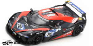 KTM X-Bow GT4 Isert Motorsport 24H Nürburgring 2018 (Zwart) (10cm) (24/300pcs) 1/43 Spark