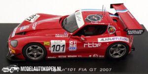 Gillet Vertigo #101 FIA GT 2007 (Rood) (10cm) 1/43 Spark