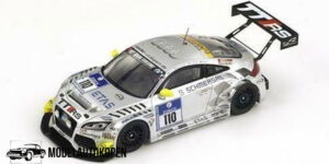 Audi TT-RS #110 24 hours of Nürburgring 2012 (Zilver) (10cm) (23/500pcs) 1/43 Spark