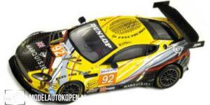 Aston Martin Vantage GT2 JMW Motorsport #92 LM 2010 (Geel/Zwart) (10cm) 1/43 Spark