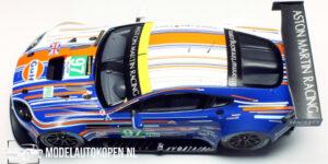 Aston Martin Vantage GTE AMR #97 LM 2013 (Blauw/Wit) (10cm) 1/43 Spark