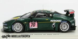 Lotus 24 Hours of Spa 2011 (Groen) (10cm) 1/43 Spark