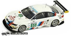 BMW M3 GT #55 Motorsport LM 2011 (Wit) (10cm) 1/43 Spark