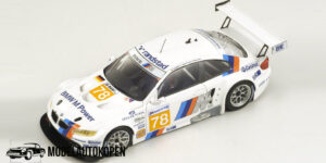 BMW M3 Motorsport #78 LM 2010 (Wit) (10cm) 1/43 Spark