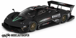 Ford GT #41 24 Hours of Spa 2011 (Zilver) (10cm) (319/500pcs) 1/43 Spark