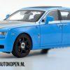 Rolls Royce Ghost 2011 (Lichtblauw/Zilver) (41 cm) 1/18 Kyosho