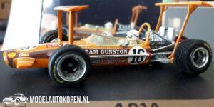 Lotus 49 ''Team Gunston'' John Love South African GP 1969 (Oranje) (10 cm) 1/43 Quartzo