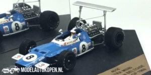 Matra MS80 Jean-Pierre Beltoise Spanish GP 1969 (Blauw) (10 cm) 1/43 Quartzo