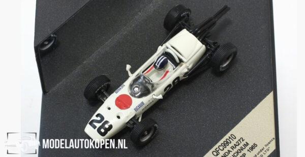 Honda RA272 R. Bucknum French GP 1965 (Wit) (10 cm) 1/43 Quartzo