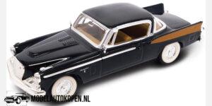 1958 Studebaker Golden Hawk (Zwart) (10 cm) 1/43 Lucky Die Cast