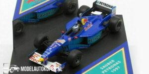 Sauber Petronas 1997 Red Bull #16 (Blauw) (10 cm) 1/43 ONYX