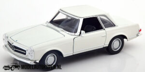 Mercedes-Benz 230SL (Wit) (20 cm) 1/24 Welly
