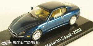 Maserati Coupé 2002 (Blauw) (10 cm) 1/43 Atlas