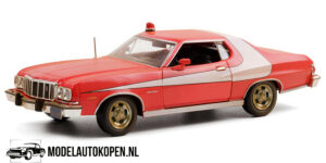 1976 Ford Gran Torino - Starsky & Hutch - Weathered Version (20 cm) 1/24 Greenlight