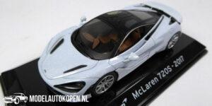 McLaren 720S 2017 (Lichtgrijs) (10 cm) 1/43 Atlas