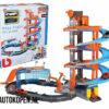 Street Fire Bburago Mega Dealer Showroom Speelgoed Garage (Inclusief 2 1/43 Modelauto's)