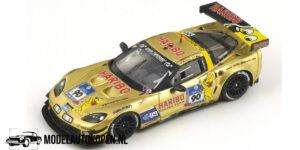 Corvette Z06 #90 24 Hours of Nurburgring 2012 (221/750pcs) (Goud) (10cm) 1/43 Spark