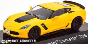 Chevrolet Corvette Z06 2017 (Geel) (10 cm) 1/43 Atlas