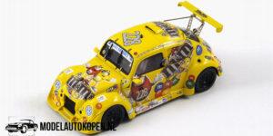 Volkswagen Fun Cup TDI #228 25 Hours of Spa 2009 (Geel) (10cm) 1/43 Spark