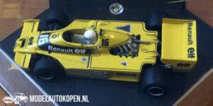 Renault RS01/3 Argentinian GP 1979 René Arnoux (Geel) (10 cm) 1/43 Quartzo - Magazijn Opruiming