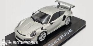 Porsche 911 GT3 RS (Zilver) (10 cm) 1/43 Atlas