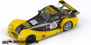 Morgan Aero 8 GT #73 Le Mans 2002 (Geel/Zwart) (10cm) 1/43 Spark