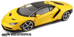 Lamborghini Centenario 2016 (Geel) (10 cm) 1/43 Atlas