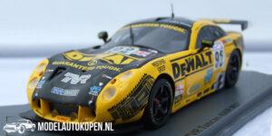 TVR Tuscan 400R #91 Le Mans 2003 (Geel/Zwart) (10cm) 1/43 Spark