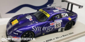 TVR Tuscan 400R #89 Le Mans 2004 (Paars) (10cm) 1/43 Spark