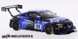 Audi TT RS Rotek Racing 24H Nürburgring 2015 (99/300pcs) (Blauw) (10cm) 1/43 Spark