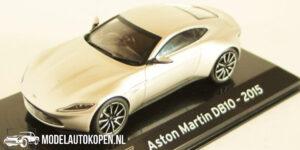Aston Martin DB10 2015 (Zilver) (10 cm) 1/43 Atlas