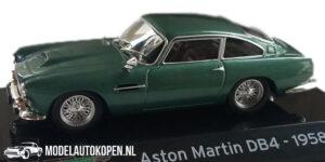 Aston Martin DB4 1958 (Groen) (10 cm) 1/43 Atlas