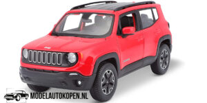 Jeep Renegade (Rood) (20 cm) 1/24 Maisto