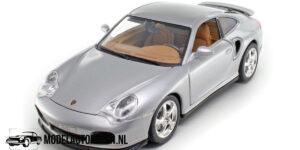 Porsche 911 Turbo 1999 (Zilver) (30 cm) 1/18 Bburago