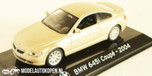 BMW 645i Coupé 2004 (Beige) (10 cm) 1/43 Atlas