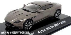 Aston Martin DB11 2016 (Donkergrijs) (10 cm) 1/43 Atlas