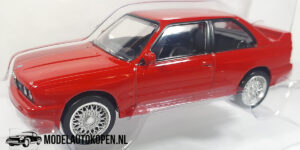 BMW M3 E30 (Rood) (10 cm) 1/43 Norev