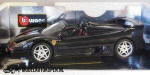Ferrari F50 Hard-Top (Zwart) (30 cm) 1/18 Bburago