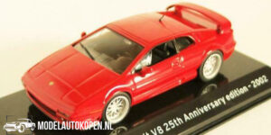 Lotus Esprit V8 25th Anniversary Edition 2002 (Rood) (10 cm) 1/43 Atlas