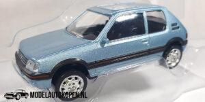 Peugeot 205 GTI (Lichtblauw) (8 cm) 1/43 Norev