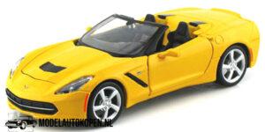 2014 Corvette Stingray (Geel) (20 cm) 1/24 Maisto