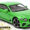 Bentley Continental GT 2018 (Groen) (30 cm) 1/18 Norev