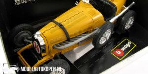Bugatti Grand-Prix 1935 (Geel) (25cm) 1/18 Bburago