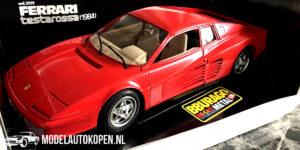Ferrari Testarossa 1984 (Rood) (22cm) 1:18 Bburago (Opruiming)
