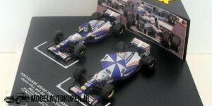 Williams FW17 Set: Damon Hill en David Couldhart Portugese Grand Prix (10cm) 1/43 Onyx