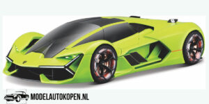 Lamborghini Terzo Millennio met Licht en Geluid (Groen) (20 cm) 1/24 Maisto