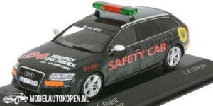 Audi RS6 Avant Safety Car 24h Le Mans 2009 - 1 of 1008 pcs. (Zwart) (10 cm) 1/43 MiniChamps