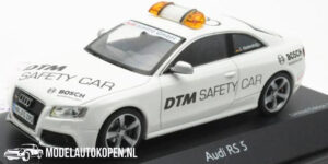 Audi RS5 - Safety Car Limited Edition 1/1000 (Wit) (10 cm) 1/43 Schuco